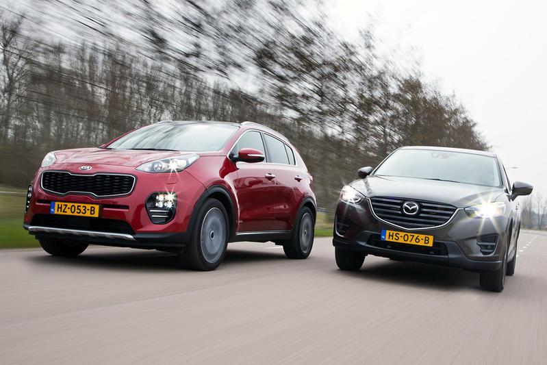 Dubbeltest - Kia Sportage vs Mazda CX-5