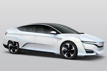 Honda presenteert FCV waterstofauto