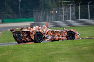 Lamborghini test 'Macchina Veloce Aperta'