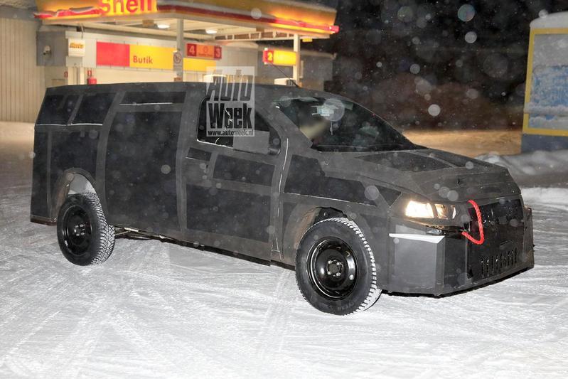 Fiat Mobi Pick-up (Strada?)