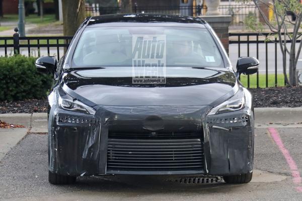 Nieuwe Toyota Mirai van dichtbij te zien