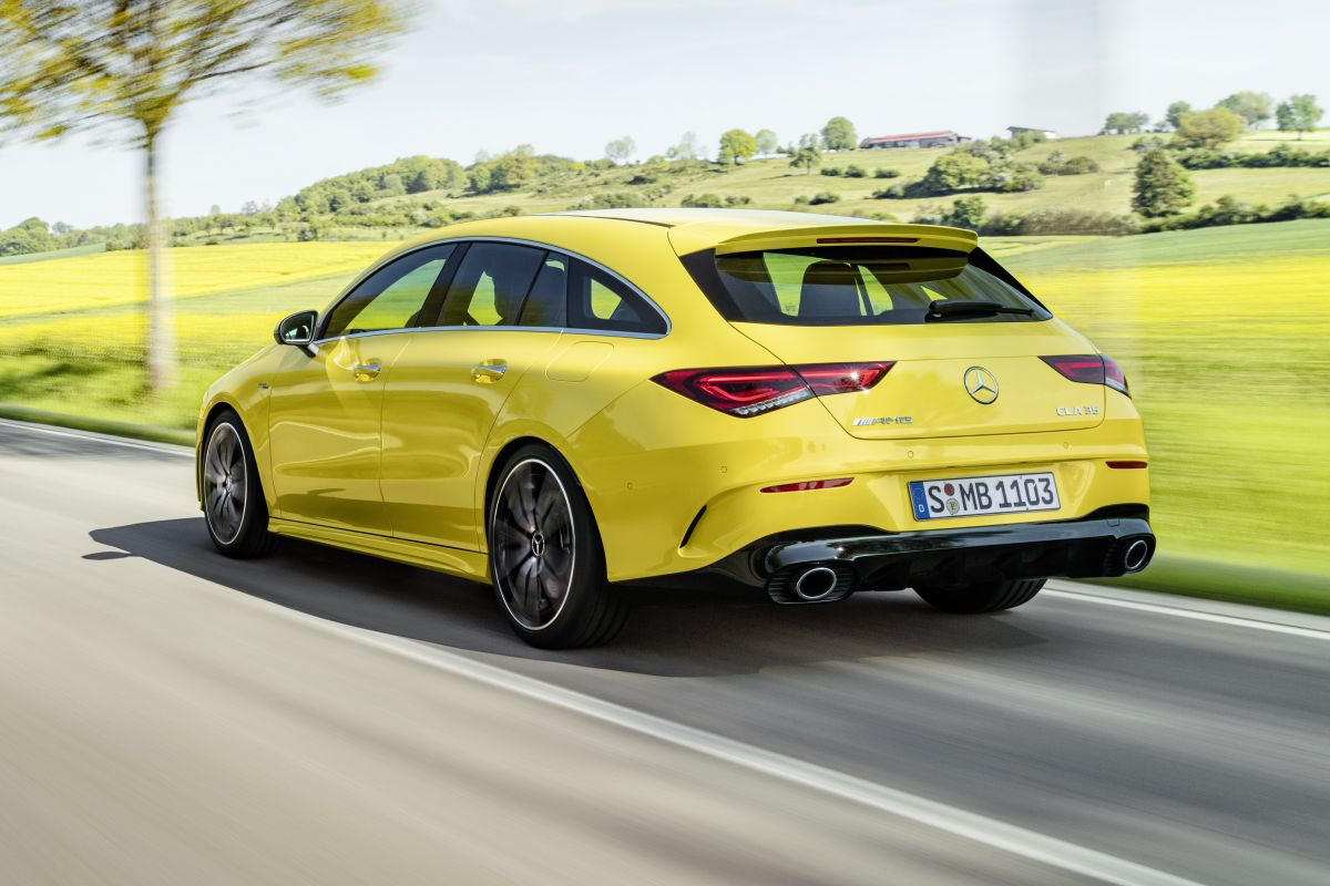 Mercedes-AMG CLA Shooting Brake 35 4Matic