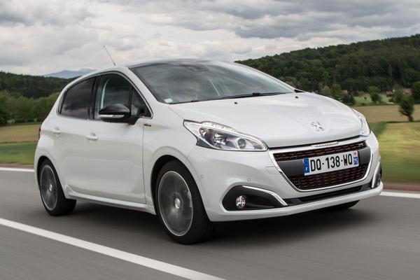 'Driedeurs Peugeot 208 uit productie'