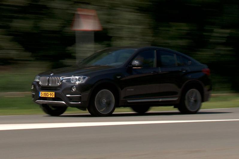 Rij-impressie BMW X4
