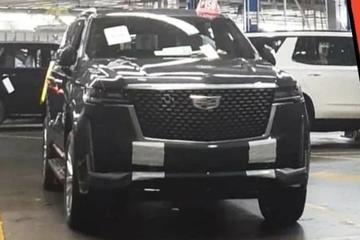 Nieuwe Cadillac Escalade laat zich al zien