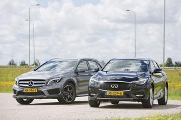 Infiniti Q30 - Mercedes-Benz GLA-klasse