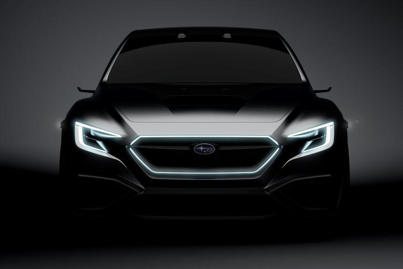 Subaru teaset Viziv Performance Concept