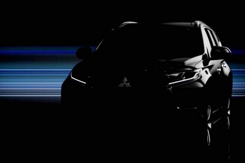 Mitsubishi toont duistere plaat Pajero Sport