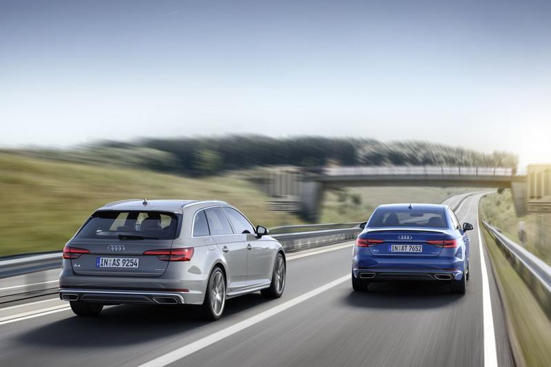 Audi A4 niet meer met lichtste 2.0 TDI