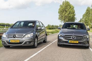Mercedes-Benz B-klasse - Oud & Nieuw