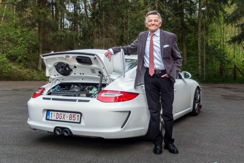 Porsche interview Hans Mezger (2015)