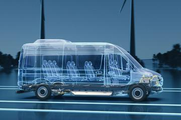 Volgende Mercedes-Benz eSprinter krijgt nieuw platform