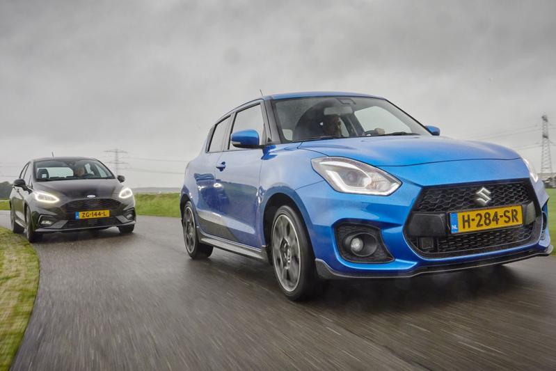 Ford Fiesta ST Line - Suzuki Swift Sport - Dubbeltest