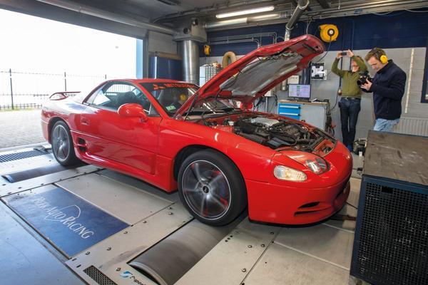 Mitsubishi 3000 GT 3.0 V6 – Op de Rollenbank