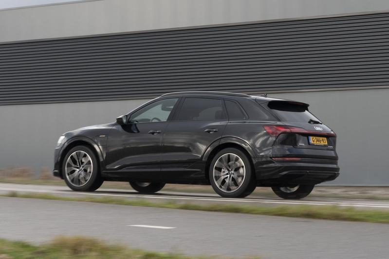 Audi E-tron 50 -Test