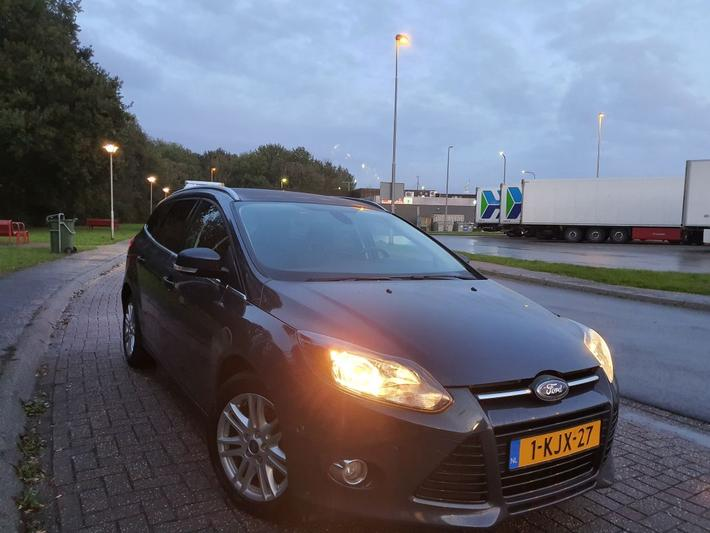 Ford Focus Wagon 1.6 TDCi 105pk ECOnetic Lease Titanium (2013)