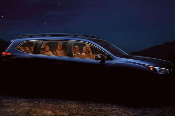 Subaru Ascent klaar voor onthulling