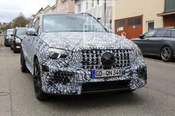 Opnieuw in beeld: Mercedes-AMG GLE 63