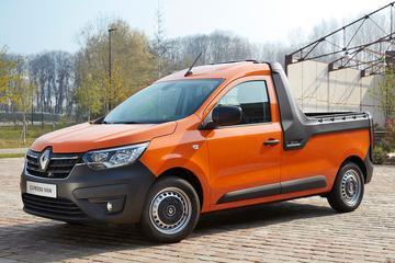 Renault Express ook als pick-up