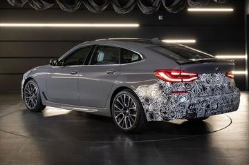 BMW laat vernieuwde 6-serie GT alvast deels zien