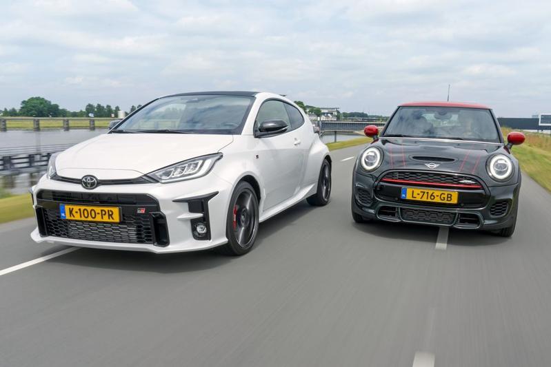 Mini JCW vs. Toyota GR Yaris - Dubbeltest