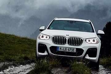 BMW belicht X3 xDrive30e