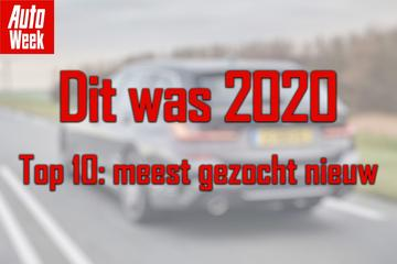 Top 10 van 2020: Meest gezochte nieuwe auto's