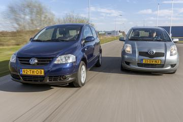 Toyota Yaris (2006) - Volkswagen Fox (2006) - Occasiondubbeltest