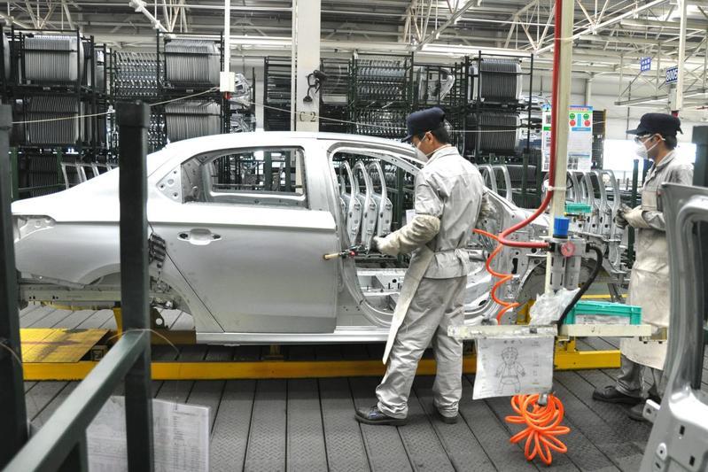 PSA Dongfeng Wuhan China fabriek