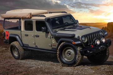 Jeep pakt uit tijdens Easter Safari