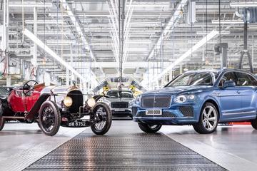 Bentley produceert 200.000ste auto