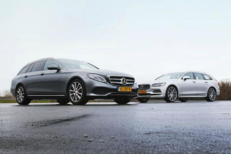 Mercedes-Benz E-klasse Estate vs. Volvo V90