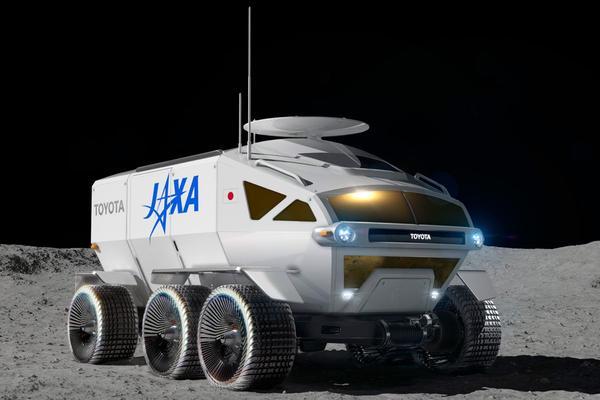 Toyota start onderzoek naar bemande maanwagen