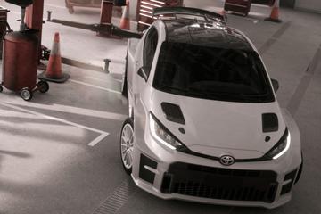 Toyota Yaris als knalhard rallykanon