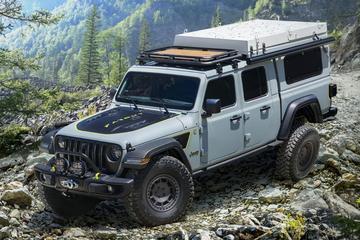 Jeep Gladiator als avontuurlijke Farout Concept