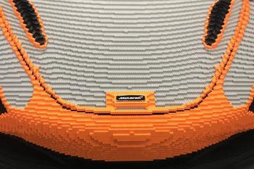 McLaren 720S van Lego op Goodwood