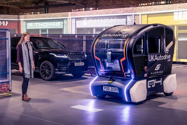 Jaguar geeft richting aan autonome auto's