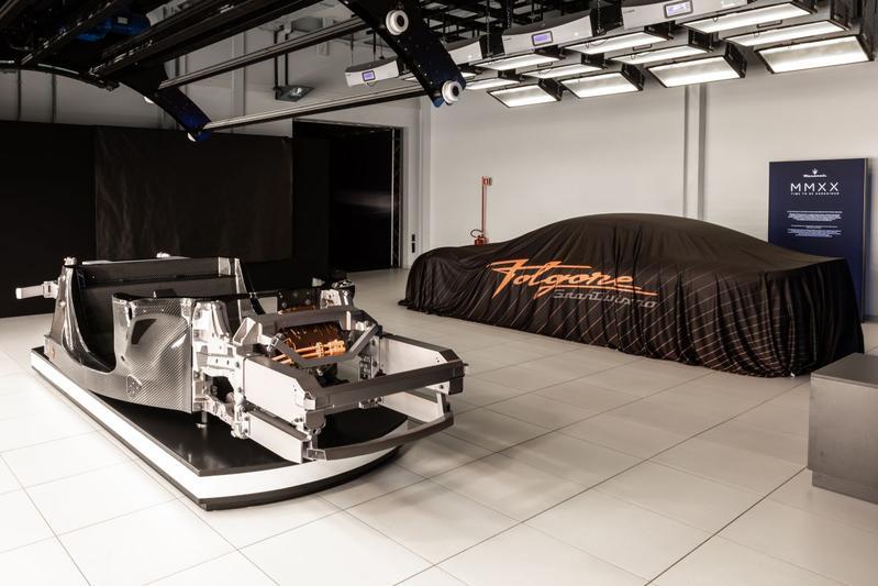 Maserati elektrische aandrijflijn