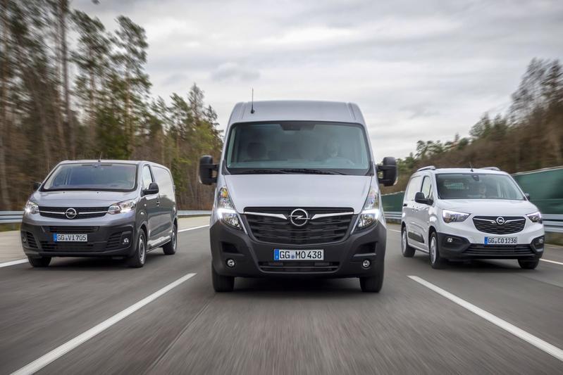 Opel bestelauto's
