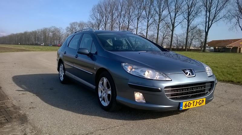 Peugeot 407 SW XS 2.0 HDiF 16V (2006)