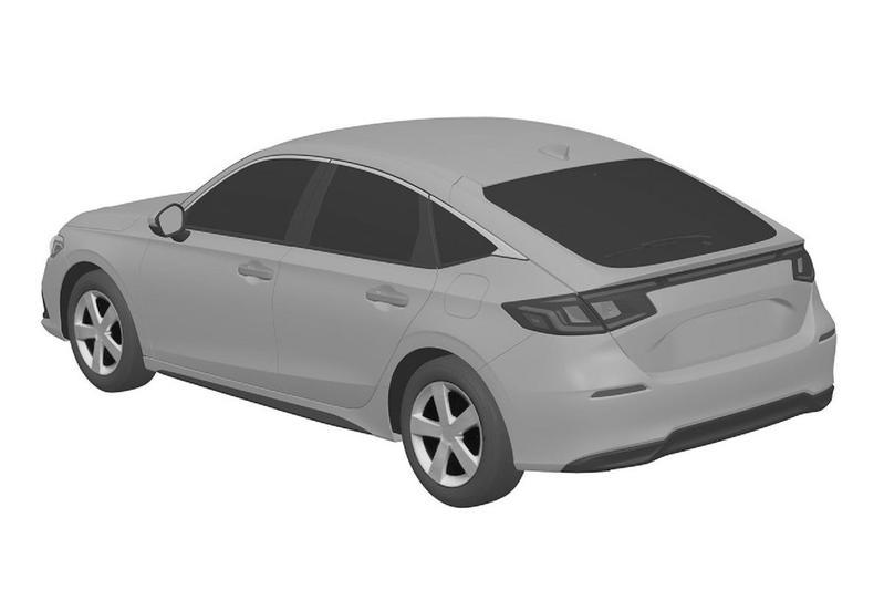Honda Civic patent
