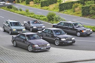 Zeldzame Mercedessen W124 - Reportage
