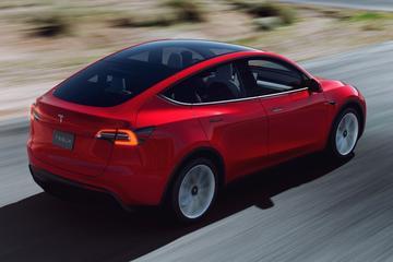 Tesla Model Y tóch als Standard Range in China