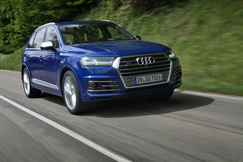 Rij-impressie - Audi SQ7