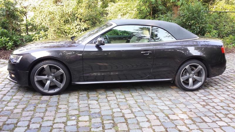 Audi A5 Cabriolet 3.0 TDI 245pk quattro Pro Line (2013)