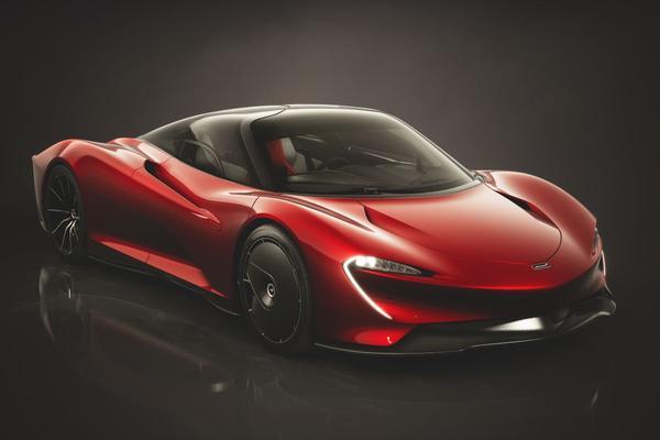 McLaren toont mogelijkheden Speedtail