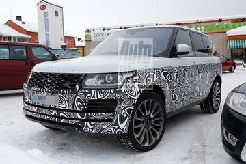 Spyshots: Range Rover onder het mes