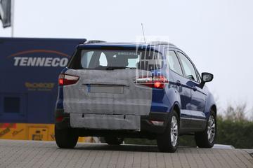 Ford Ecosport verliest reservewiel
