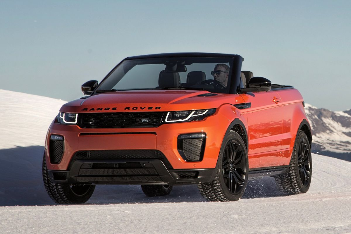 gereden range rover evoque convertible autonieuws. Black Bedroom Furniture Sets. Home Design Ideas