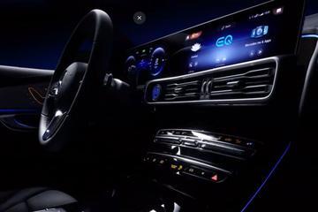 Mercedes-Benz toont interieur EQ C